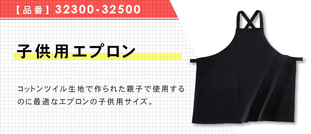 子供用エプロン(32300-32500)5カラー・1サイズ
