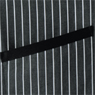 チェック柄ロングエプロン(FK7123)アクセントのポケットテープ