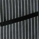 ストライプ柄ロングエプロン(FK7124)アクセントのポケットテープ