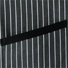 ストライプ柄ショートエプロン(FK7126)アクセントのポケットテープ