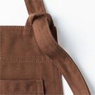 胸当てエプロン(FK7159)サイズ調整可能なストラップ
