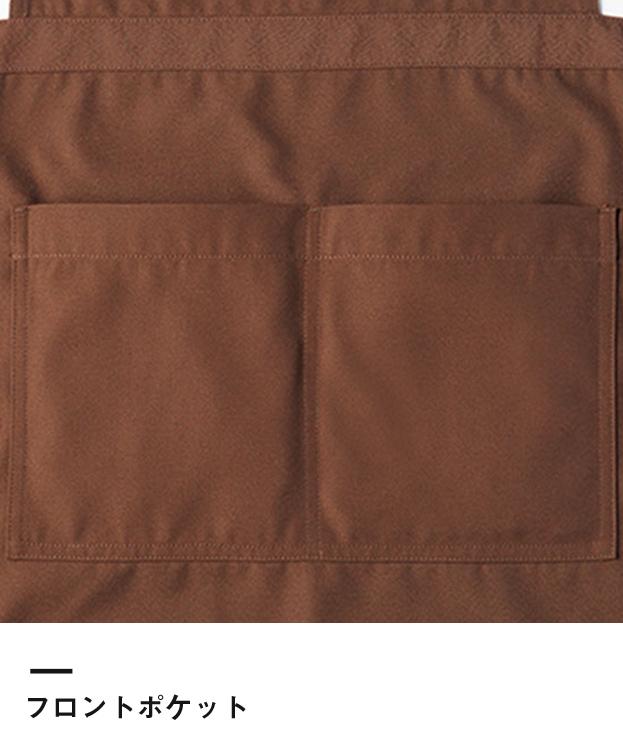 サロンエプロン(FK7160)フロントポケット