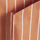 サロンエプロン(ストライプ)(FK7162)マチ付きポケット
