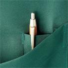 バッククロス胸当てエプロン(FK7163)ペン挿しポケット