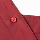 H型胸当てエプロン(FK7164)調整可能なボタン付き