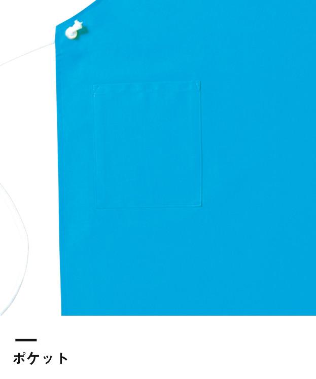 コットンループエプロン(MK7000)ポケット