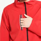 リフレクソフトシェルジャケット(00039-RJS)ポケット(反射ファスナーを使用)