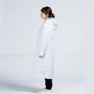 アクティブベンチコート(00230-ABC)着用イメージ(ホワイト/Sサイズ)・側面