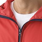 ナイロンフルジップジャケット(一重)(7025-01)襟
