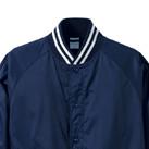 ナイロンスタジアムジャケット(一重)(7054-01)襟