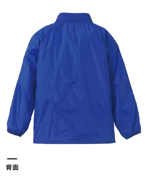 ナイロンスタンドジャケット(フードイン)(裏地付)(7056-01)背面