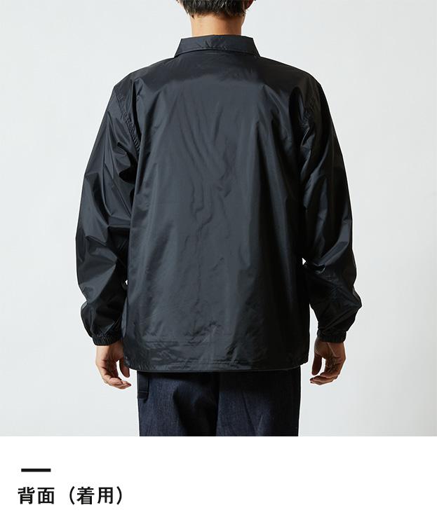 ナイロンコーチジャケット(裏地付)(7059-01)背面(着用)