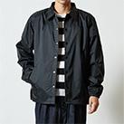 ナイロンコーチジャケット(裏地付)(7059-01)正面(着用)