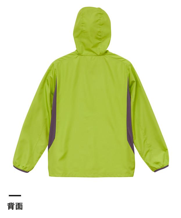 マイクロリップストップジップジャケット(裏地付)(7067-01)背面