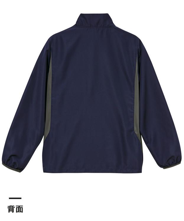 マイクロリップストップスタンドジャケット(裏地付)(7068-01)背面
