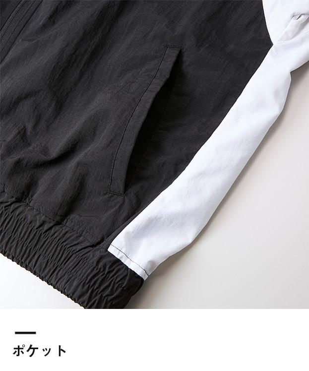 コットンライクナイロントラックジャケット(裏地付)(7210-01)ポケット