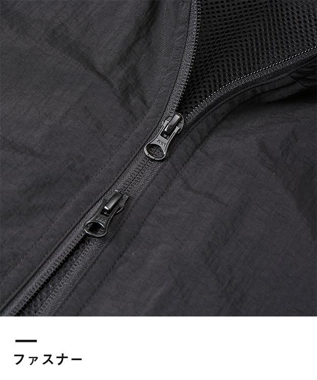 コットンライクナイロントラックジャケット(裏地付)(7210-01)ファスナー