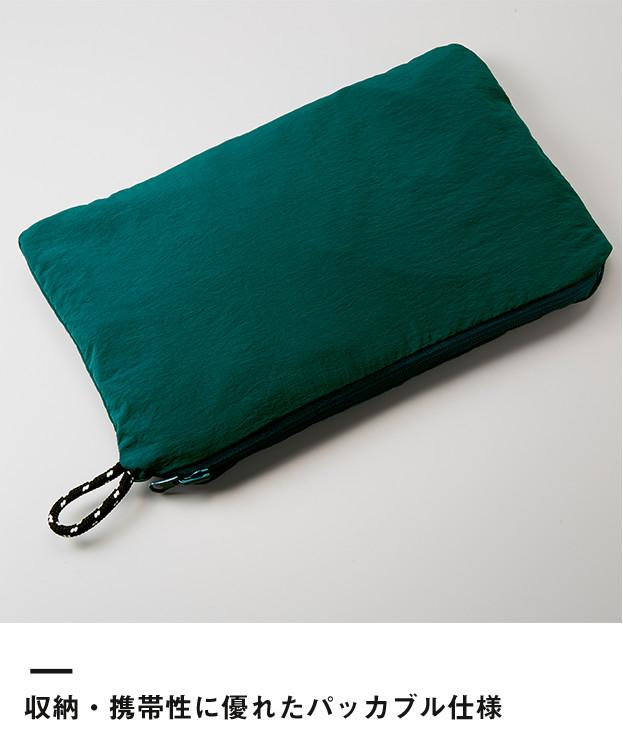 コットンライクナイロンアノラックパーカ(一重)(7211-01)収納・携帯性に優れたパッカブル仕様