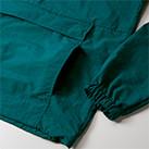 コットンライクナイロンアノラックパーカ(一重)(7211-01)ポケット・袖口