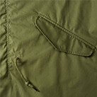 T/Cモッズコート(一重)(7447-01)ポケット