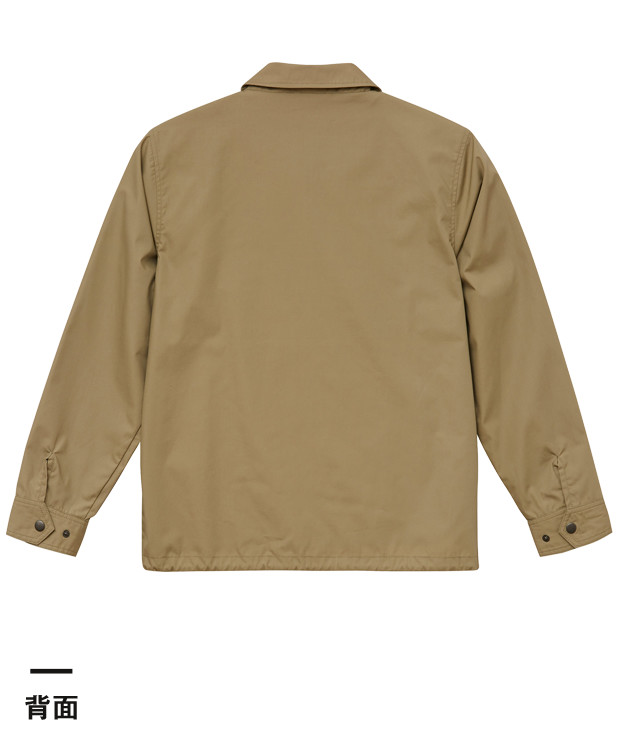 T/Cコーチジャケット(裏地付)(7448-01)背面