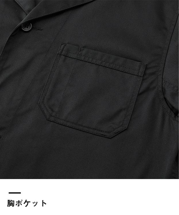 T/Cエンジニアコート(7450-01)胸ポケット