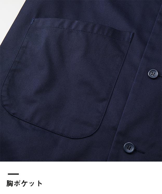 T/Cダスターコート(7451-01)胸ポケット