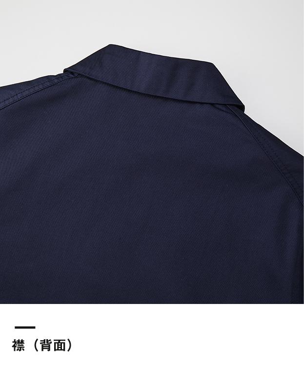 T/Cダスターコート(7451-01)襟(背面)