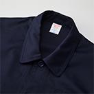 T/Cカバーオールジャケット(7452-01)襟