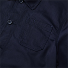 T/Cカバーオールジャケット(7452-01)胸ポケット