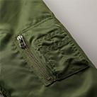 タイプMA-1ジャケット(中綿入)(7480-01)シガレットポケット
