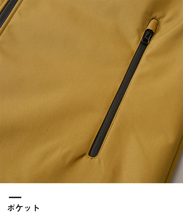 スイッチングシェルパーカ(一重)(7489-01)ポケット