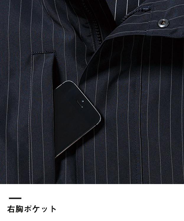 アスレチックブルゾン(MJ0052)右胸ポケット