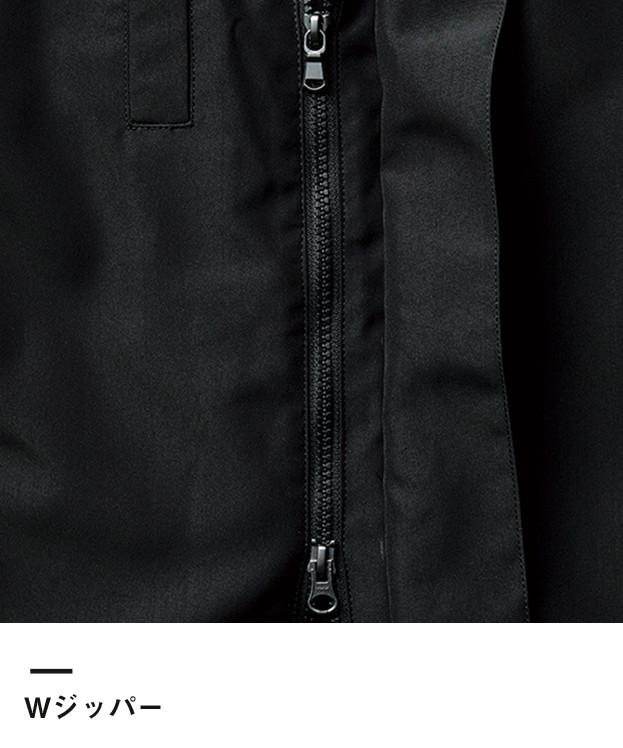 スタイリッシュジャケット(ソリッド)(MJ0072)Wジッパー
