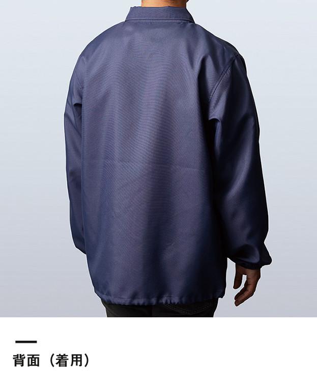 コーチジャケット(裏地なし)(MJ0076)背面(着用)