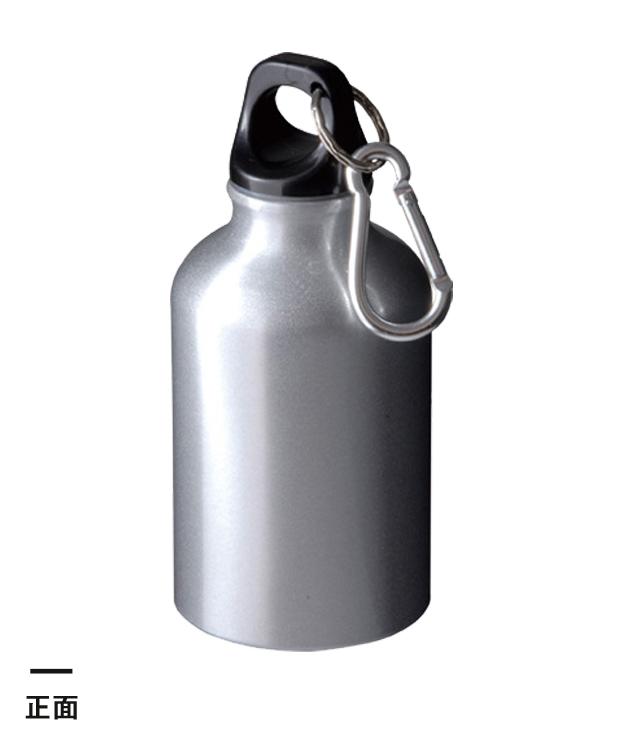 アルミボトル(300ml/ツヤあり/カラビナ付)(041945-2140)正面