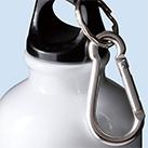 アルミボトル(300ml/ツヤあり/カラビナ付)(041945-2140)カラビナ付きのフタ
