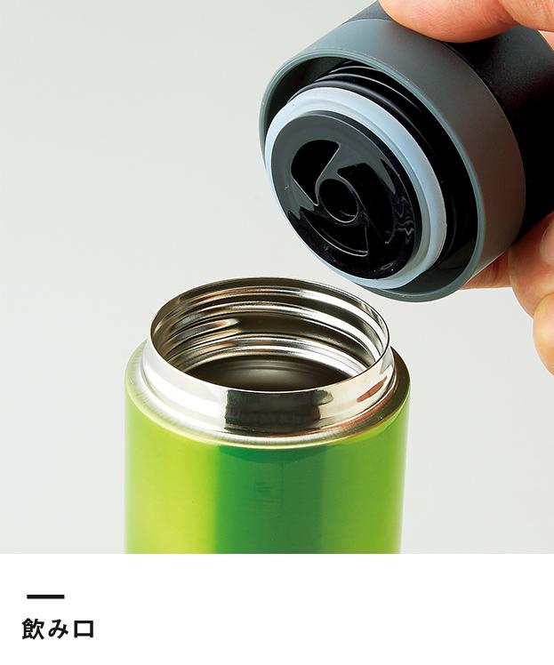 セルトナ・ストッパー付き真空ステンレスボトル(157341-5)飲み口