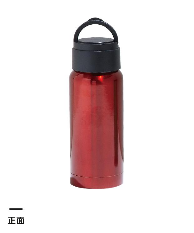 セルトナ・ハンドル付き真空ステンレスボトル(183341-5)正面