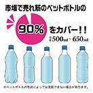 アトラス ボトルインボトル約500~650ml用(ストラップタイプ)(ABIB-B)数多くのペットボトルに対応