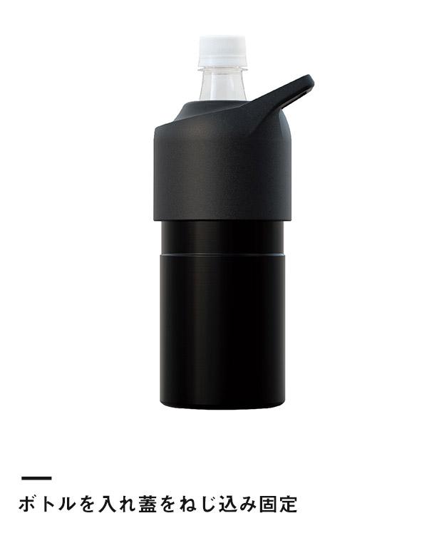 アトラス ボトルインボトル約500~650ml用(ハンドルタイプ)(ABIB-C)ボトルを入れ蓋をねじ込み固定