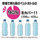 アトラス ボトルインボトル約500~650ml用(ハンドルタイプ)(ABIB-C)氷がラクに入る広口の口径!