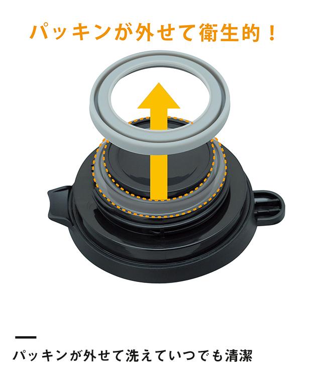 アトラス ステンレスコーヒーサーバー800ml(ACS-802)パッキンが外せて洗えていつでも清潔
