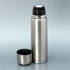 アトラス ステンレススリムボトル480ml(AKS-5004)コップ付きボトル