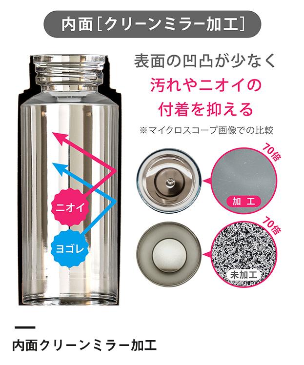 アトラス Airlist 超軽量スリムボトル 500ml(ARSS-500)滑らかな飲み口・優しい口あたり