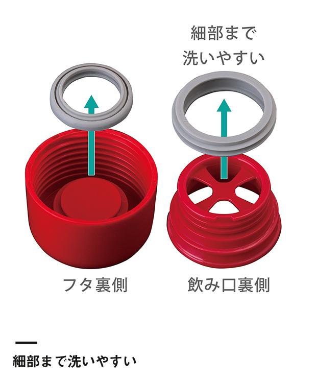 アトラス SWITCH マグボトル350ml(AS-351)細部まで洗いやすい