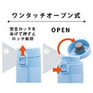アトラス 軽量ワンタッチボトル 500ml (ATLW-500)ワンタッチオープン式