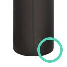 アトラス ワンタッチマグボトル500ml(AW-500)底面レーザー溶接でコンパクト設計