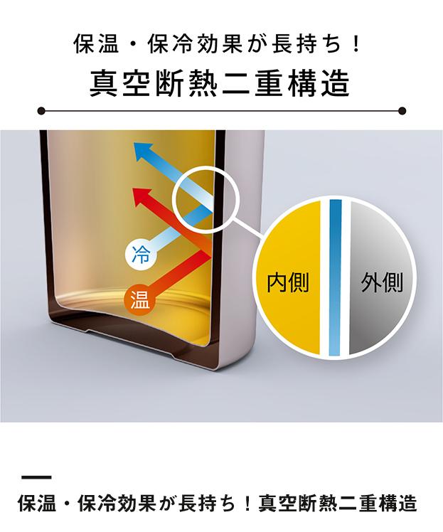 アトラス ステンレスボトル1000ml広口タイプ(AWB-1004)保温・保冷効果が長持ち!真空断熱二重構造