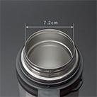 アトラス ステンレスボトル1500ml広口タイプ(AWB-1504)約7.2cmの口径